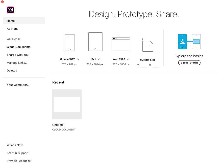 Designing an app with a UI resource or UI kit | Adobe XD