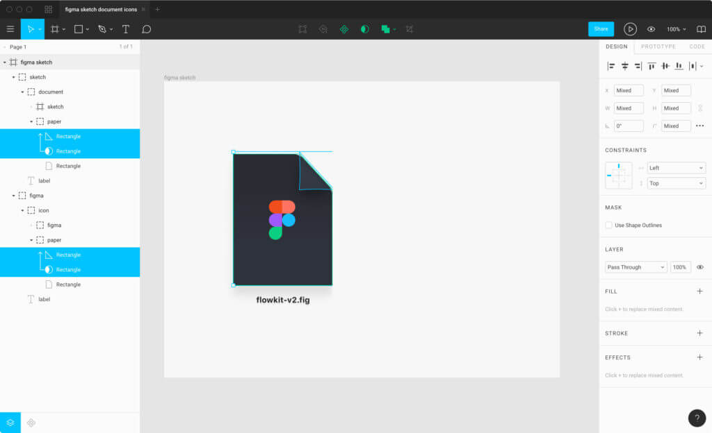 Preview designs and prototypes in Presentation View – Figma